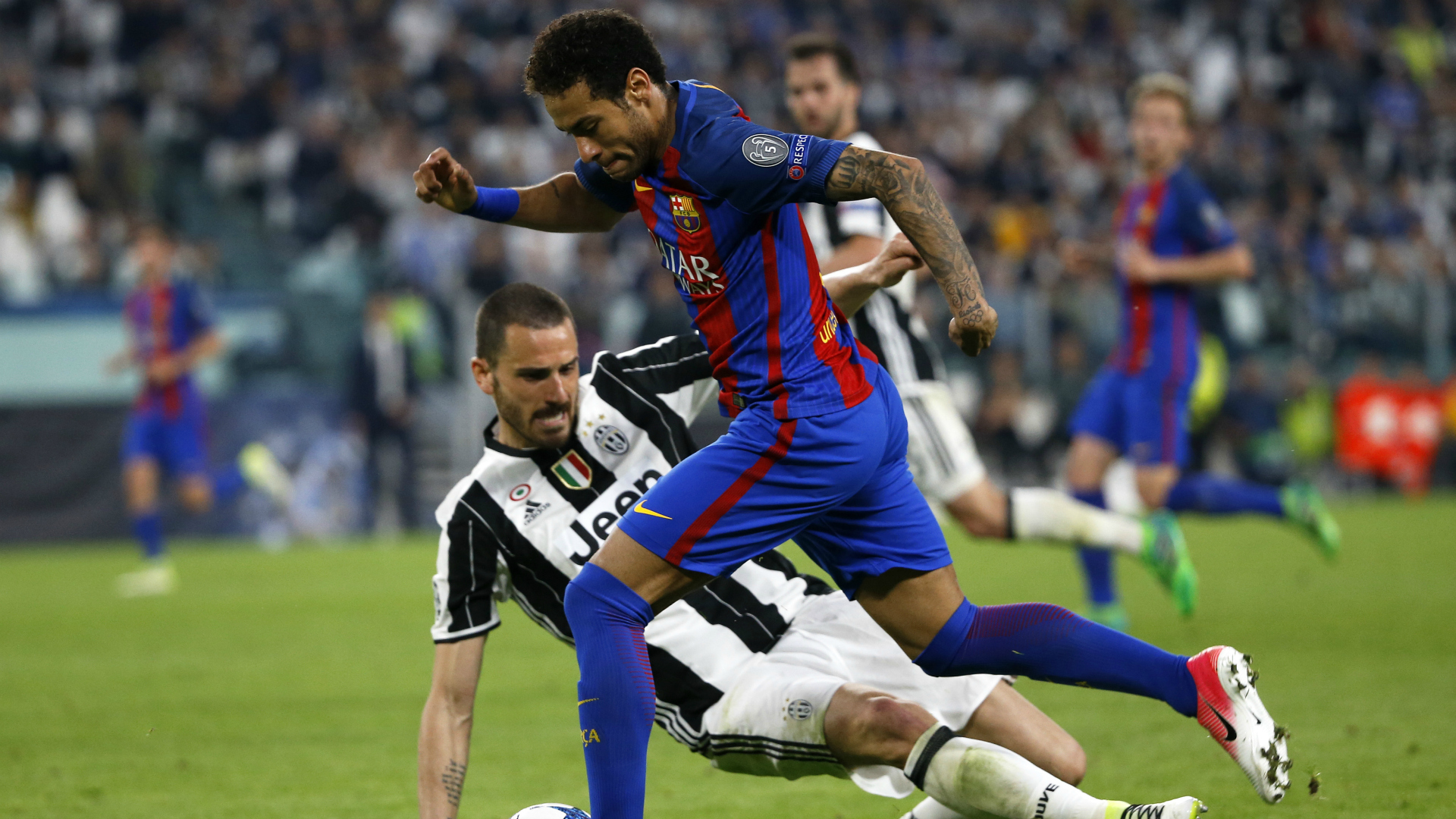 Champions League: Barcellona Juve 3-0, un disastro