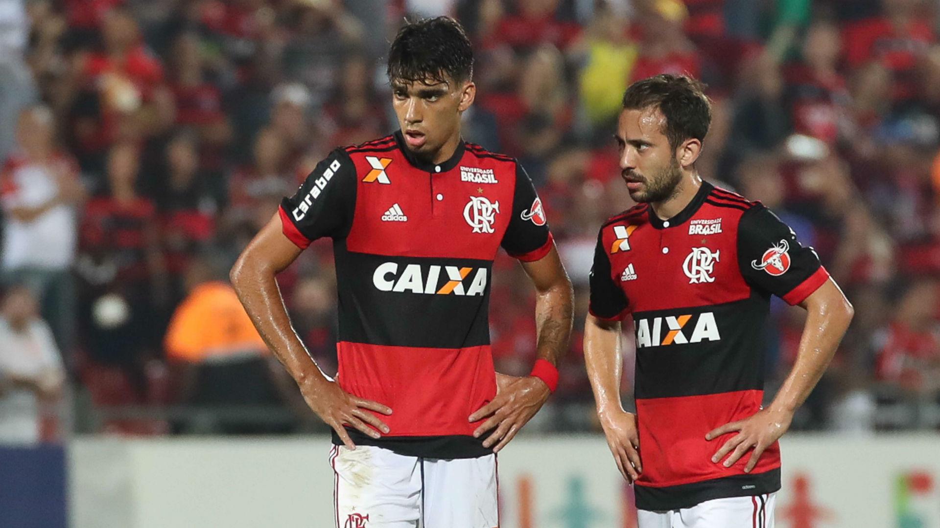 Lucas Paquetá Everton Ribeiro Flamengo x Atlético-GO Brasileirão 20 08 2017
