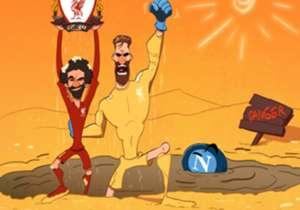 12 DE DEZEMBRO | Alisson e Salah salvam o Liverpool da queda antecipada na Champions League