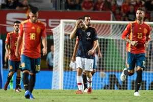 Spanien Vs Kroatien