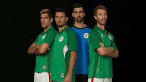 Capitanes seleccion Euskadi