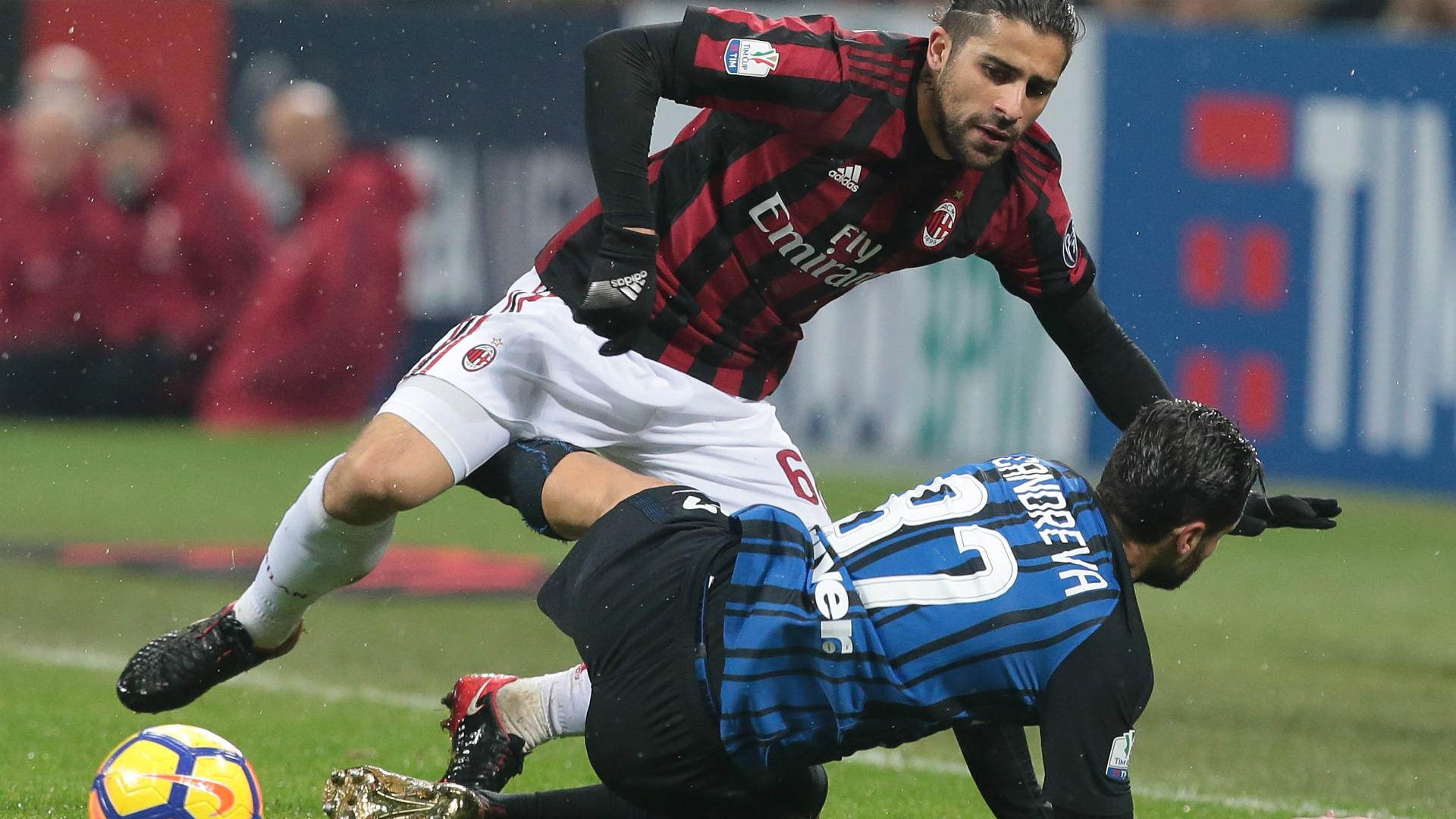 Candreva Ricardo Rodriguez Milan Inter Italian Cup