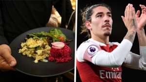 Hector Bellerin Arsenal vegan