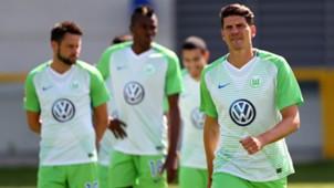 Mario Gomez, Training, Wolfsburg, 02082017