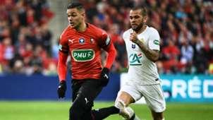 Dani Alves Hatem Ben Arfa Rennes PSG Coupe de France 27042019
