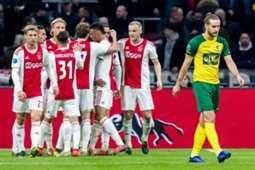 Ajax Fortuna Sittard 10/3/19