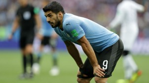 Luis Suarez Uruguay France World Cup 06072018