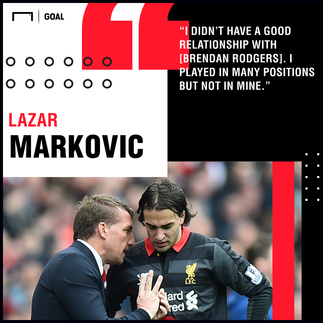 Lazar Markovic Rodgers Liverpool PS