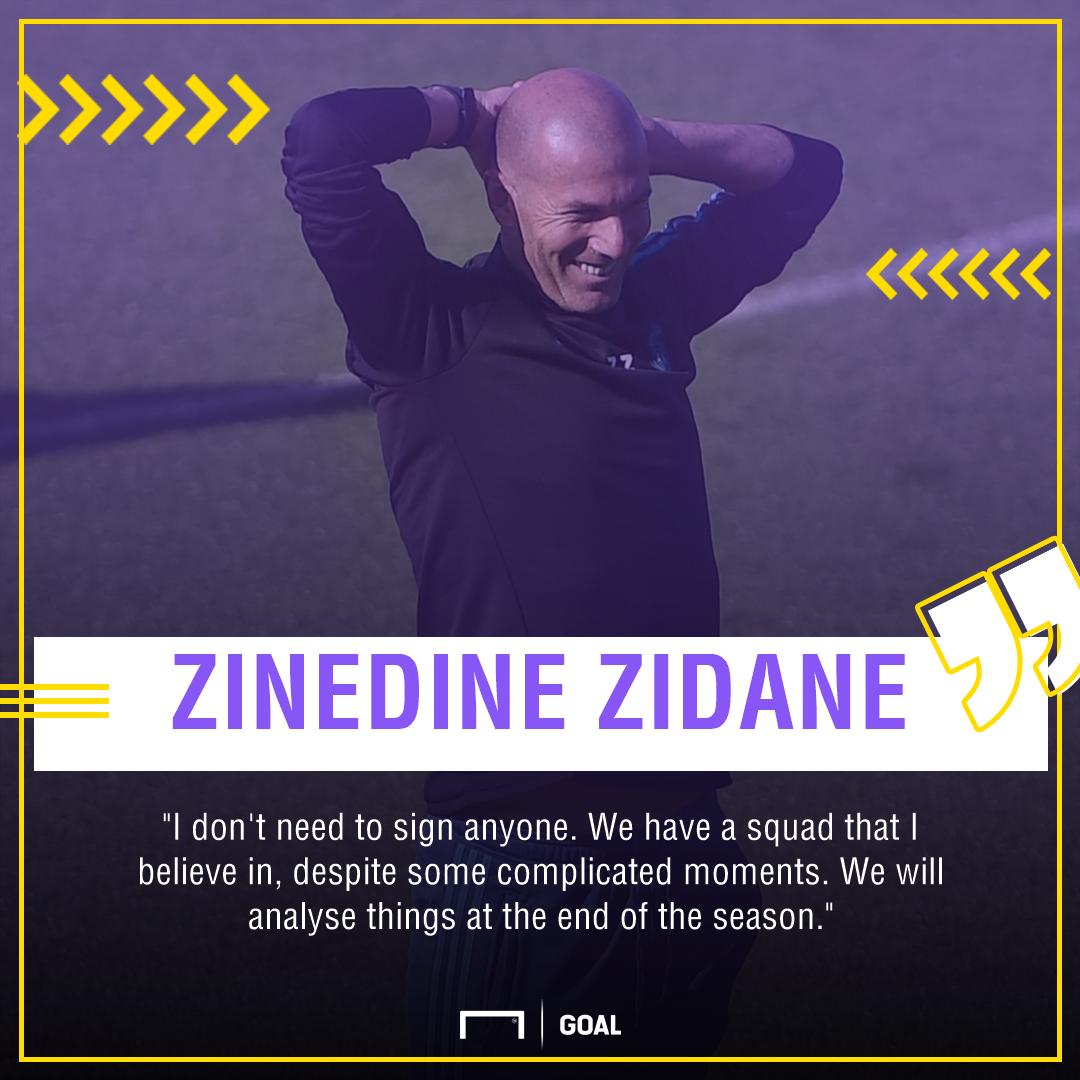 Zidane quote transfers