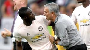 Eric Bailly Jose Mourinho Manchester United 2018-19