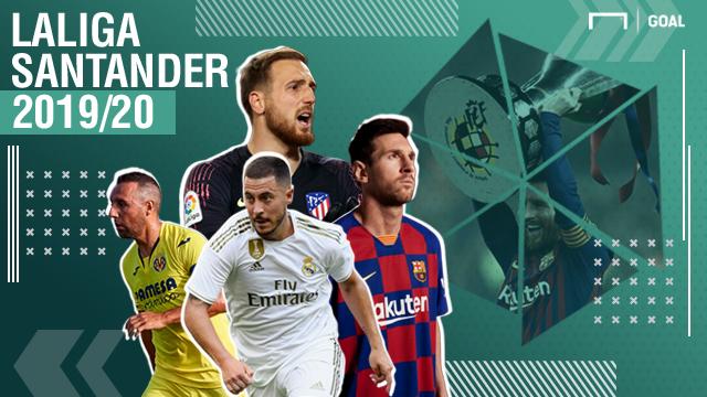 La Liga Footer 2019-20
