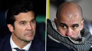 Santiago Solari Pep Guardiola Real Madrid Manchester City 2019