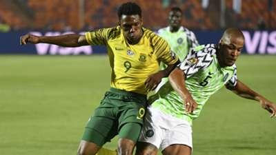 Lebo Mothiba and William Troost-Ekong - Nigeria vs. South Africa