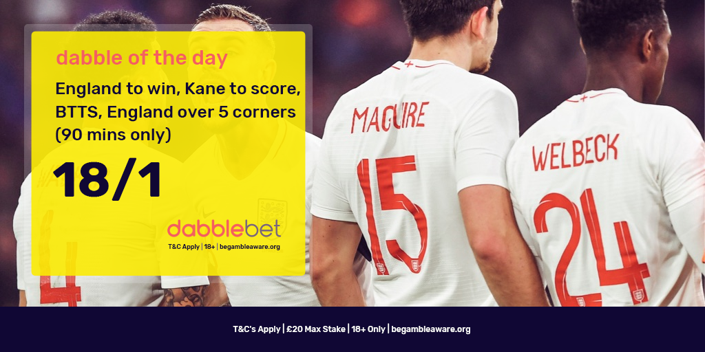 England Colombia dabble of the day