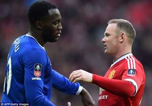 Wayne Rooney and Romelu Lukaku Premier League