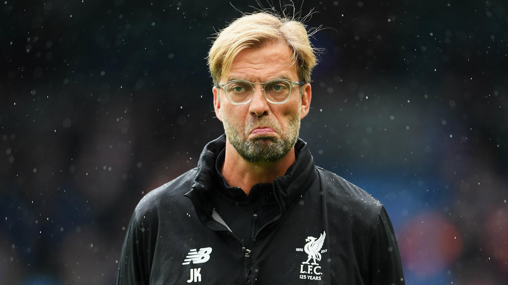 Jurgen Klopp, Manchester City v Liverpool, Sept. 17