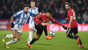 170218 Manchester United Huddersfield Alexis Sánchez Danny Williams