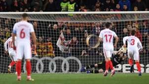 Jasper Cillessen Ever Banega Barcelona Sevilla Copa del Rey 30012019
