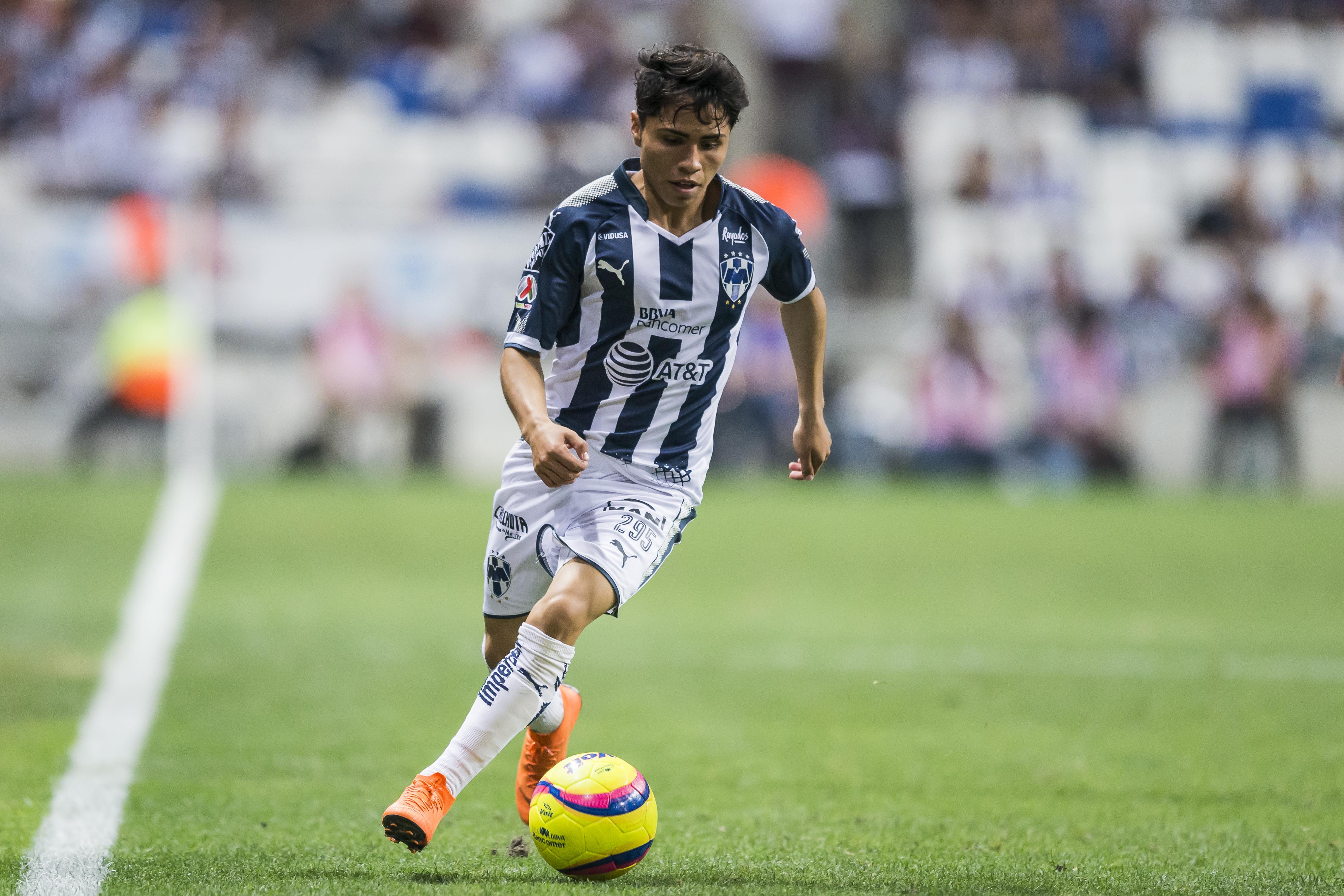 Misael Domínguez Liga MX Monterrey