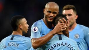 Vincent Kompany Manchester City 2017-18