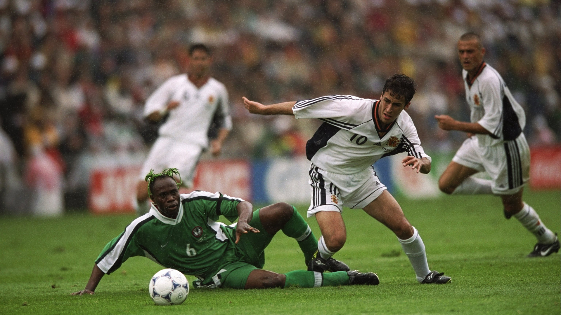 Taribo West Raul Nigeria Spain