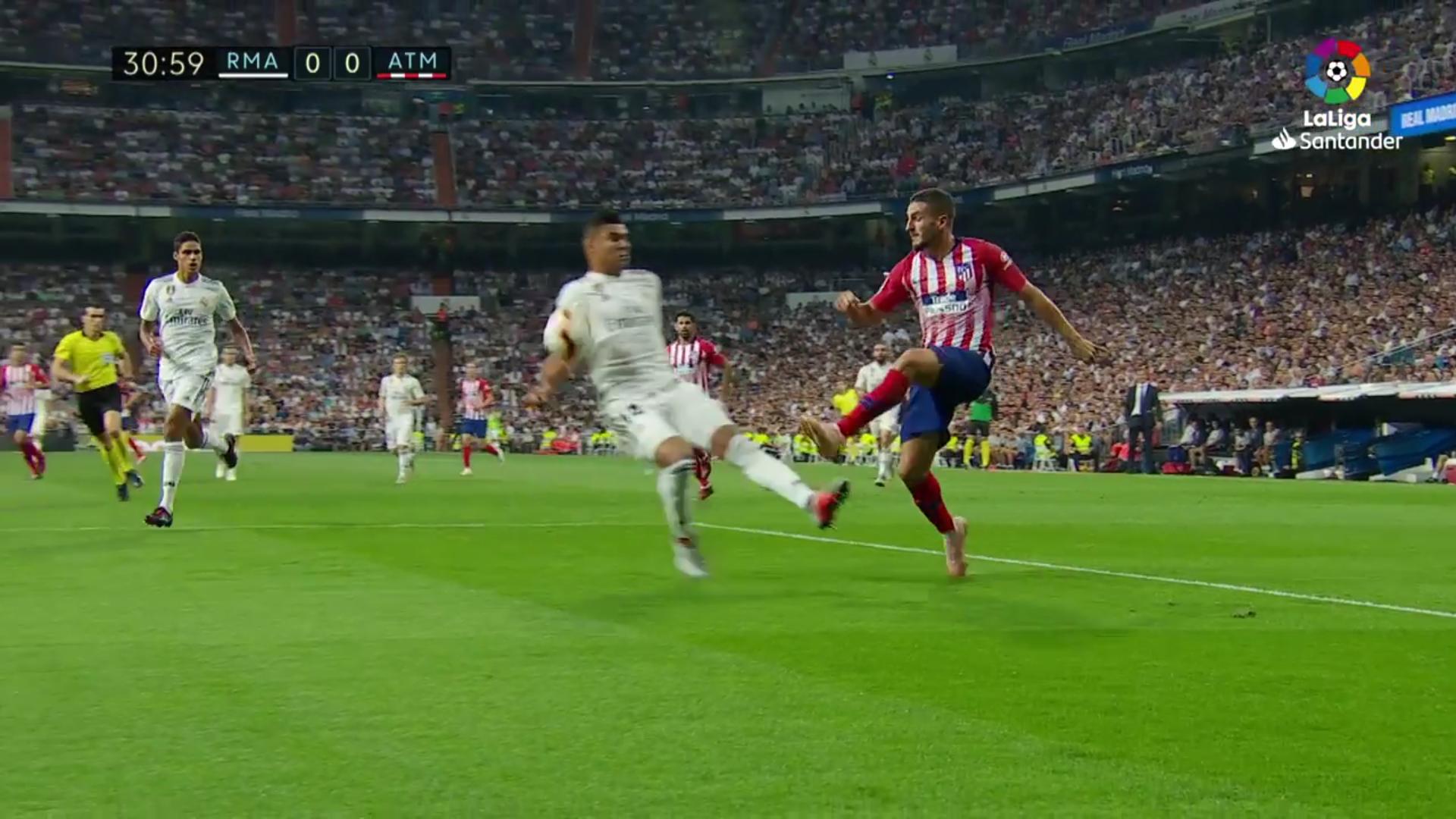 Casemiro Real Madrid Atleti