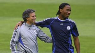 Jose Mourinho Didier Drogba 08042007