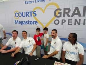COURTS Megastore opening