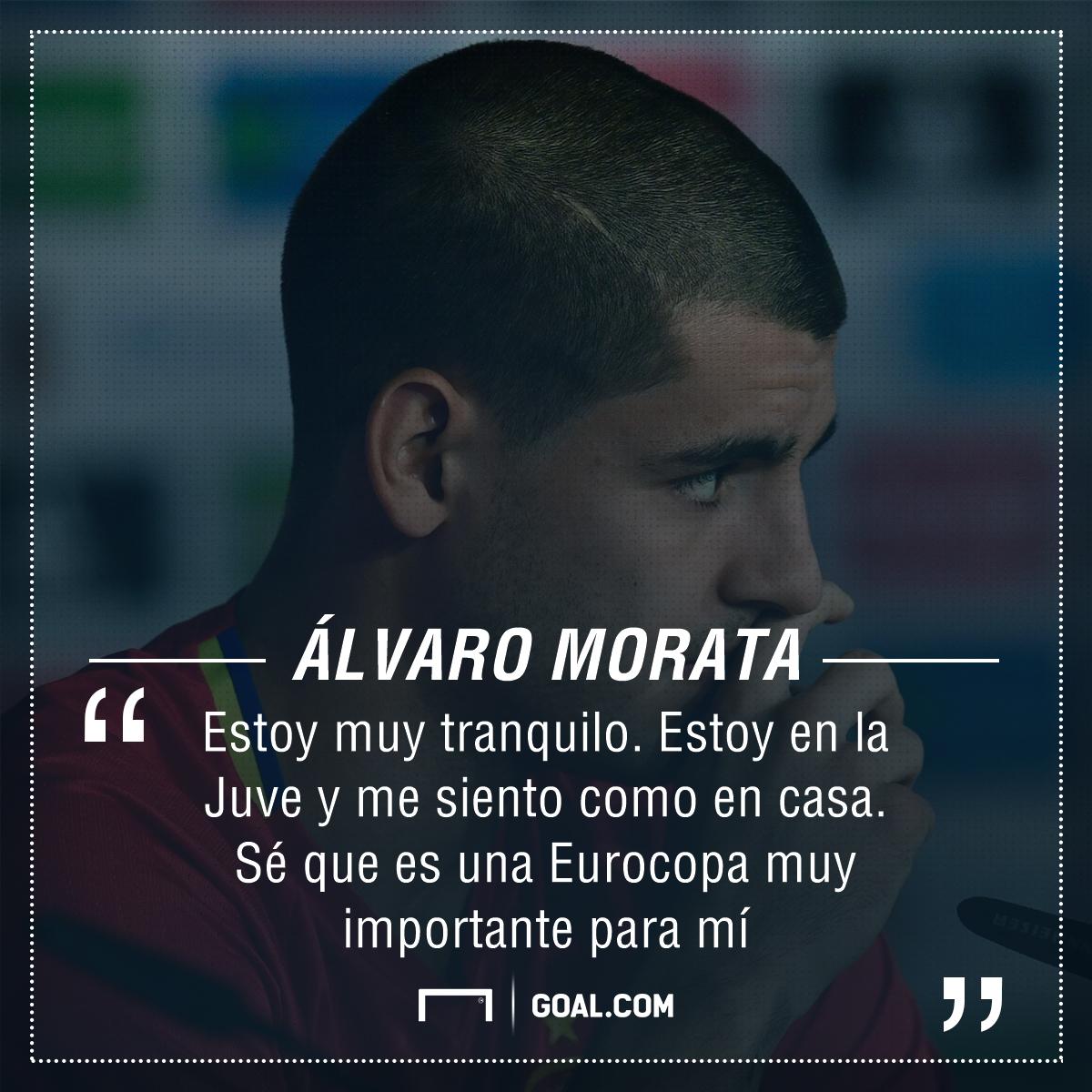 Álvaro Morata: Estoy Preparado Para Ser El Delantero De