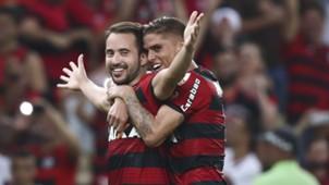 Everton Ribeiro Gustavo Cuellar Flamengo 16052018