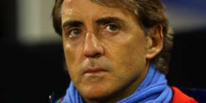 Roberto Mancini Italy USA International friendly