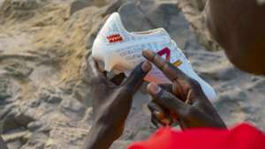 Heart of a lion - Sadio Mane's new Senegal-inspired boot