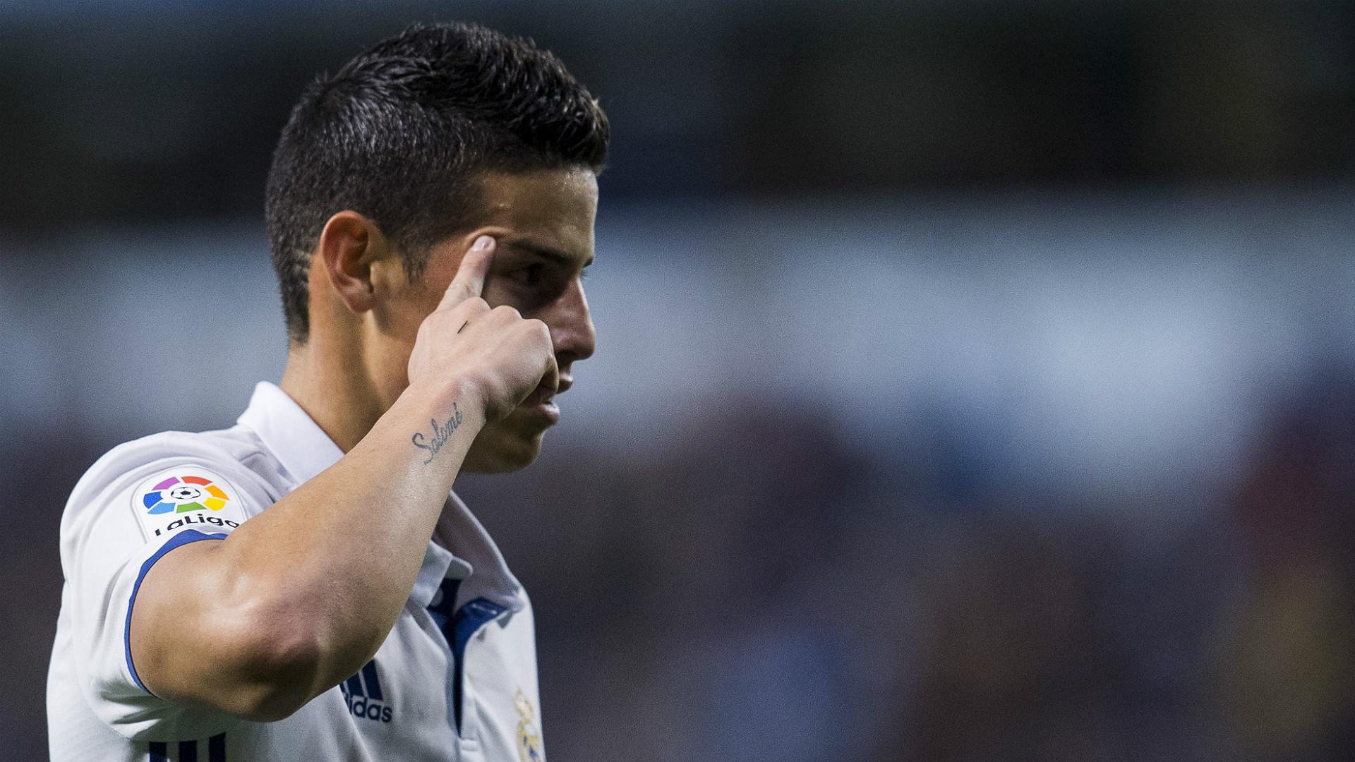 James Rodriguez Deportivo Coruna Real Madrid LaLiga 26042017