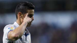 James Rodriguez Deportivo Coruna Real Madrid LaLiga 26042017
