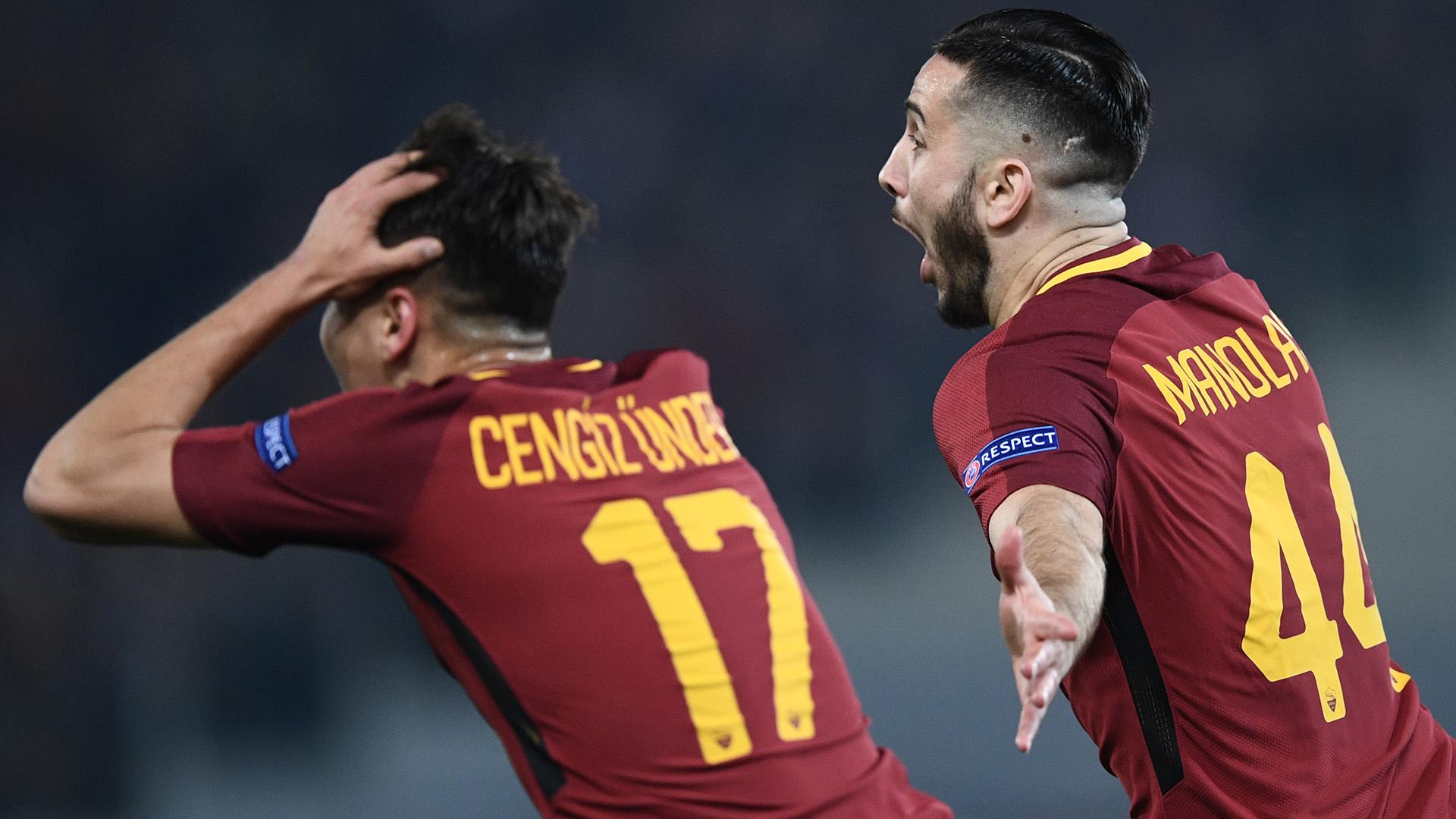 Kostas Manolas Roma Barcellona Champions League