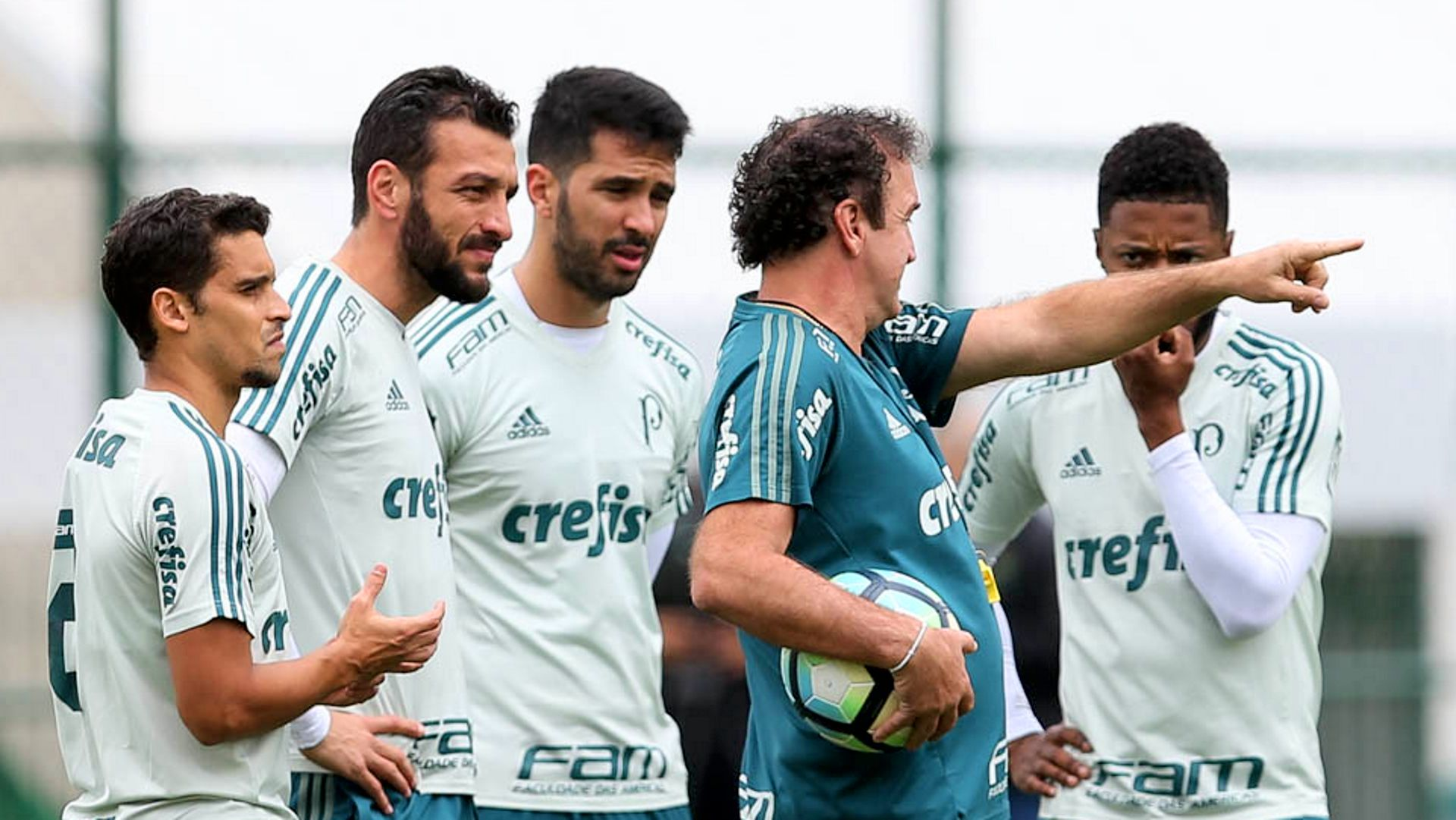 Cuca Palmeiras treino 31082017