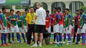 Ong Kim Swee, Arsene Wenger, Kuala Lumpur