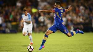 Andrew Nabbout Newcastle Jets v Melbourne City A-League 27012017