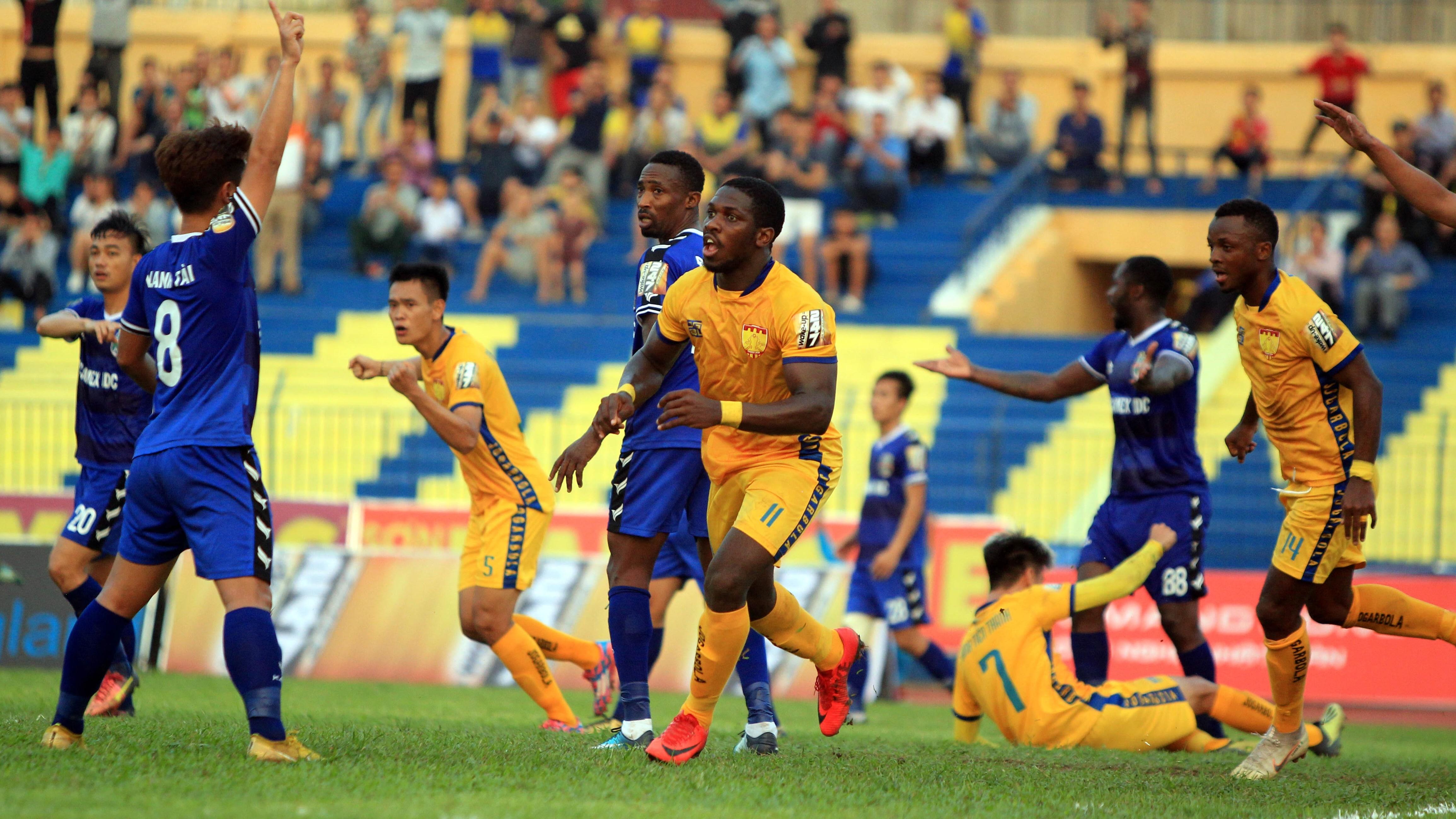 Gordon Rimario Thanh Hoa V.League 2019