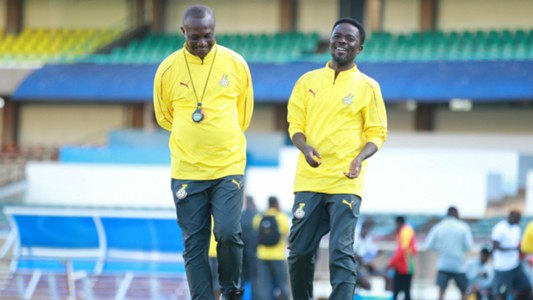 Ghana coach Kwesi Appiah in Kenya.