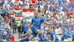 Kolbeinn Sigthórsson, Iceland - Hungary, Euro 2016