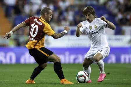 Sneijder Modric Real Madrid Galatasaray