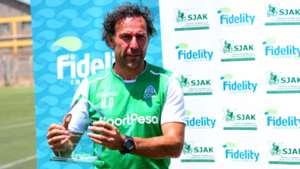 Hassan Oktay Gor Mahia coach.