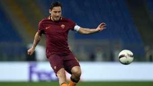 Francesco Totti Roma Lione Europa League