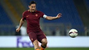 Francesco Totti Roma Lione Europa League