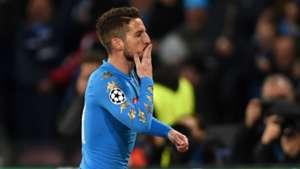Dries Mertens Napoli Real Madrid