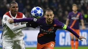 David Silva, Man City vs Lyon