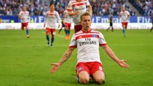 Lewis Holtby Hamburger SV Bundesliga SC Freiburg 210418