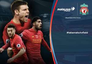 Liverpool vs Crystal Palace - Malaysia Airlines