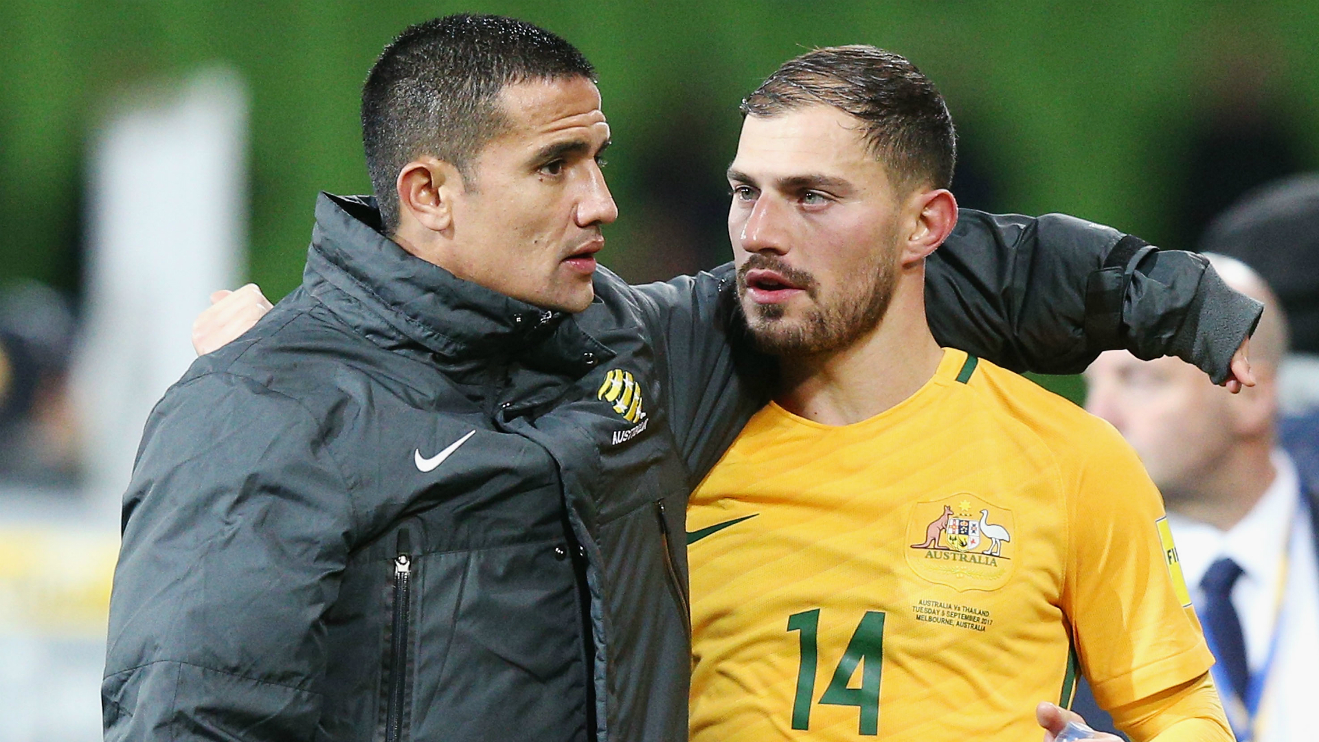 Tim Cahill/ James Troisi Socceroos 2017